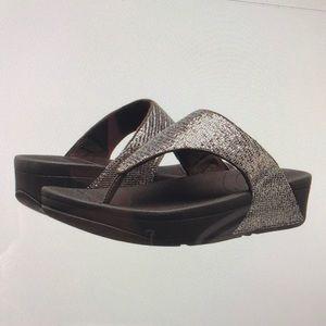 Fitflops Lulu Superglitz Textile Sandal